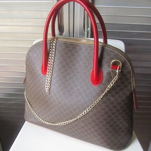 SALE Celine Macadam Satchel Purse